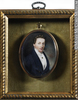 Original title:  Painting, miniature Portrait of Chief Justice Jonathan Sewell (1766-1839) Anonyme - Anonymous About 1825-1830, 19th century 8 x 6.4 x 1.6 cm Gift of Donald Sewell Campbell and Family M2006.30.1 © McCord Museum Keywords: