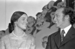 Original title:  Rt. Hon. Pierre Elliott Trudeau and Margaret Trudeau.