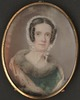 Original title:  Anne Langton [watercolour miniature on ivory]. 1840. Archives of Ontario.
