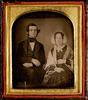 Original title:  Samuel Leonard Tilley (1818-1896) and his first wife, Julia Ann Hanford (d. 1862)
