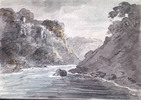 Original title:  La rivière Niagara, près de Queenston.