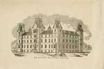 Titre original :  The Proposed New General Hospital (Toronto).; Author: HAY, WILLIAM (1818-1888), after; Author: Year/Format: 1854, Picture