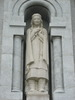 "Titre original :    Description English: Statue of Kateri Tekakwitha on the outside of the Basilica of Sainte-Anne-de-Beaupré, near Quebec City. Français : Statue de Kateri Tekakwitha à l'extérieur de la Basilique Sainte-Anne-de-Beaupré, près de la ville de Québec. Date 8 July 2008(2008-07-08) Source Own work Author LovesMacs  The photographical reproduction of this work is covered under the Canadian Copyright Act of 1985 32.2 (1)(b), which states that ""it is not an infringement of copyright for any person to reproduce, in a painting, drawing, engraving, photograph or cinematographic work (i) an architectural work (defined as ""a building or structure or any model of a building or structure""), or (ii) a sculpture or work of artistic craftsmanship or a cast or model of a sculpture or work of artistic craftsmanship, that is permanently situated in a public place or building."" This freedom does not app"