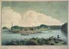 "Original title:    Description English: ""A North View of Fort Frederick Built by Order of the Honourable Colonel Robert Monckton, on the Entrance of the St. John's River in the Bay of Fundy, Nova Scotia"" - The St. John River Campaign occurred during the French and Indian War when Colonel Robert Monckton led a force of 1150 British soldiers to destroy the Acadian settlements along the banks of the Saint John River. Monckton established a new base of operations by reconstructing the old French fortification Fort Menagoueche at the mouth of the river. He re-named it Fort Frederick. Destroyed in 1777, it was replaced by nearby Fort Howe. Date 1758(1758) Source National Gallery of Canada (no_6269) Author Lt. Thomas Davies (1737-1812) Permission (Reusing this file) This is a faithful photographic reproduction of an original two-dimensional work of art. The work of art itself is in the public domain for"
