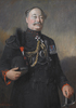 Original title:  Portrait of Sir Henry Pellatt, painted by Edmund Wyly Grier (1862-1957), oil on canvas. Image courtesy of The Queen's Own Rifles of Canada Regimental Museum and Archives.