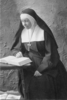 Titre original :  Mother Foundress (Hannah Grier Coome) reading. Image courtesy of the Sisterhood of St. John the Divine.