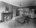 Original title:  Robinson, Sir John Beverley, BT, 'Beverley House', Richmond St. W., n.e. cor. John St.; INTERIOR, dining room.; Author: Unknown; Author: Year/Format: 1911, Picture