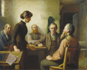 Titre original :  File:Robert Harris - A Meeting of the School Trustees.jpg - Wikimedia Commons