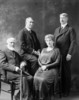 Original title:  John Rudolphus Booth and family.