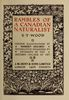 Original title:  Rambles of a Canadian naturalist by S. T. (Samuel Thomas) Wood, 1860-1917; Illustrations by Robert Holmes, 1861-1930. Publication date 1916. Publisher: London, J.M. Dent. From: https://archive.org/details/ramblesofcanadia00wood/page/n7.