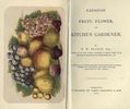 Titre original :  Canadian fruit, flower, and kitchen gardener : a guide in all matters relating to the cultivation of fruits, flowers and vegetables, and their value for cultivation in this climate by Delos White Beadle. Toronto: J. Campbell, 1872. Source: https://archive.org/details/canadianfruitflo00beaduoft