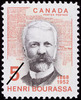 Original title:  Henri Bourassa, 1868-1952 [document philatélique].  Philatelic issue data Canada : 5 cents Date of issue 4 septembre 1968