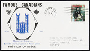 Original title:  Marguerite Bourgeoys [philatelic record].  Philatelic issue data Canada : 8 cents