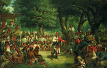 Titre original :    Description The Trial of Red Jacket Date 1869(1869) Source http://americanart.si.edu/images/1990/1990.34_1a.jpg (Smithsonian American Art Museum) Author John Mix Stanley (1814–1872) Description American painter and explorer Date of birth/death 17 January 1814(1814-01-17) 10 April 1872(1872-04-10) Location of birth/death Canandaigua, New York Detroit