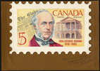 Original title:  Hon. George Brown, 1818-1880 [graphic material] /