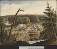 Original title:  Jacques Cartier River near Québec.