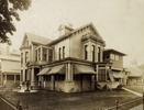 Original title:  ROBERTSON, JOHN ROSS, house, Sherbourne St., e. side, s. Gerrard St. E.; Author: Unknown; Author: Year/Format: 1900, Picture