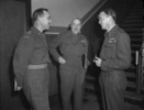 Original title:  Brig. C. Churchill Mann (left), Gen. H.D.G. Crerar (centre) and Air Marshal E.C. Hudleston (right)