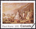 Titre original :  Paul Kane, painter = Paul Kane, peintre [philatelic record].  Philatelic issue data Canada : 7 cents Date of issue 11 August 1971