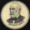 Original title:  Lapel button for Mackenzie Bowell.