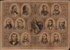 Original title:  The New Cabinet of the Dominion of Canada, 1878.