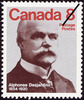 Original title:  Alphonse Desjardins, 1854-1920 [philatelic record].  Philatelic issue data Canada : 8 cents Date of issue 30 May 1975