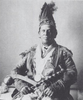 Original title:    Description English: Photograph of Dr. Peter Edmund Jones, in the buckskin suit inherited from his father. The suit is decorated with porcupine quills and symbols of the Eagle totem. Jones holds a war club, and the tomahawk pipe Sir Auguste D'Este gave Jones' father. Jones may also have one of the feathers from his father's naming ceremony. Date 1898(1898) Source American Anthropologist Volume 11, 1898; also catalogued as Photo #498-a-I in Smithsonian records Author Unknown Smithsonian Photographer Permission (Reusing this file) Public domainPublic domainfalsefalse This media file is in the public domain in the United States. This applies to U.S. works where the copyright has expired, often because its first publication occurred prior to January 1, 1923. See this page for further explanation. Català | Česky | Deutsch | English | Español | Eesti | فارسی | Suomi | Français | Gaeil