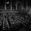 Titre original :  P.M. Diefenbaker introducing President Kennedy to the House of Commons.