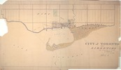 Titre original :  Historical Maps of Toronto: 1834 Chewett City of Toronto and Liberties