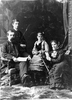 Original title:  Photograph Bernard Devlin and family, Montreal, QC, 1877 Notman & Sandham 1877, 19th century Silver salts on paper mounted on paper - Albumen process 17.8 x 12.7 cm Purchase from Associated Screen News Ltd. II-43408.1 © McCord Museum Keywords:  mixed (2246) , Photograph (77678) , portrait (53878)