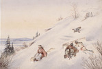 Original title:  Tobogganing on the Citadel,.