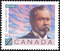 Original title:  Louis-H. Fréchette, 1839-1908, poète = Louis-H. Fréchette, 1839-1908, poet [philatelic record].  Philatelic issue data Canada : 38 cents