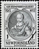 Original title:  1583-1933, Sir Humphrey Gilbert : [Portrait] [philatelic record].  Philatelic issue data Newfoundland : 1 cent Date of issue 3 August 1933
