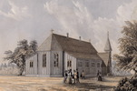 Original title:  Church of St. John the Evangelist, Toronto.; Author: Hay, William (1818-1888); Author: Year/Format: 1859, Picture