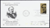 Titre original :  Joseph Howe [philatelic record].  Philatelic issue data Canada : 8 cents