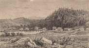 Original title:  Huntsville, Muskoka (Ontario); Author: White, George Harlow (1817-1887); Author: Year/Format: 1875, Picture