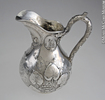 Titre original :  Water pitcher Robert Hendery 1862, 19th century Silver 25 x 21 x 16 cm Gift of The Rev. Dr. Davena Davis M2006.77.1 © McCord Museum Keywords: