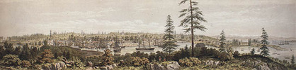 Original title:  View of Victoria, Vancouver Island.
