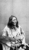 "Titre original :  ""Crowfoot"", Chief of the Blackfeet Indians."