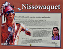 Titre original :  Sign about the Nissowaquet Indians