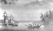 Titre original :    Description English: Ships Sutil and Mexicana, during the Dionisio Alcalá Galiano expedition made in 1792 in British Columbia (Canada). Drawing made by Jose Cardero Date 1792, during the Dionisio Alcalá Galiano expedition Source http://www.trailtribes.org/fortclatsop/sites/showonecontent.asp@contentid4196.htm Author José Cardero, spanish artist of the XVIII century Permission (Reusing this file) Public domainPublic domainfalsefalse This image (or other media file) is in the public domain because its copyright has expired. This applies to Australia, the European Union and those countries with a copyright term of life of the author plus 70 years. You must also include a United States public domain tag to indicate why this work is in the public domain in the United States. Note that a few countries have copyright terms longer than 70 years: Mexico has 100 years, Colombia has 80 yea