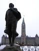 Original title:    Author: en:User:Sherurcij Description: Statue of Sir Galahad in honour of Henry Albert Harper on Parliament Hill in Ottawa Source: Uploaded as en:Image:Henry Harper Stat.jpg on January 29, 2006