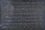 Original title:    Description English: The plaque on the Galahad statue honoring Henry Albert Harper. Date Photo: 29 January 2006(2006-01-29) (original upload date) Depicted work: 1905 Source Transferred from en.wikipedia to Commons by User:Kelly using CommonsHelper. Author Photo: Sherurcij at en.wikipedia Depicted work: Ernest Keyser