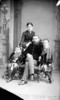 Original title:  Arthur Wellington Ross, M.P., (Lisgar, Man.), and family.