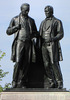 Titre original :    Description English: Statue of Robert Baldwin and Louis-Hippolyte Lafontaine by Walter Seymour Allward, Parliament Hill, Ottawa, Ontario, Canada Date 11 February 2010(2010-02-11) Source Own work Author D. Gordon E. Robertson