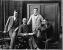 Original title:  Photograph Henry Birks and his three sons, Montreal, QC, 1895 Wm. Notman & Son 1895, 19th century Silver salts on glass - Gelatin dry plate process 20 x 25 cm Purchase from Associated Screen News Ltd. II-111126 © McCord Museum Keywords:  family (800) , Photograph (77678) , portrait (53878)