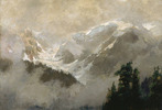Original title:    Artist Frederic M. Bell-Smith (1846–1923) Title English: Mists and Glaciers of the Selkirks Date 1911 Medium oil on canvas Dimensions 86.8 × 125.7 cm (34.2 × 49.5 in) Current location National Gallery of Canada Native name English:National Gallery of Canada / French:Musée des beaux-arts du Canada Location Ottawa Coordinates 45° 25′ 46.29″ N, 75° 41′ 55.11″ W Established 1880 Website National Gallery of Canada Accession number 91 Credit line Acquired 1912 Source/Photographer The AMICA Library