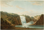 Original title:  Falls of Montmorency.