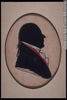 Original title:  Painting, silhouette Ignace-Michel-Louis-Antoine d'Irumberry de Salaberry Eliab Metcalf 1809, 19th century 7.1 x 4.3 cm Gift of Mr. Louis Mulligan M972.81.21.1 © McCord Museum Keywords:  male (26812) , Painting (2229) , painting (2226) , portrait (53878)