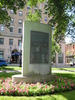Original title:    Description English: Monument to Charles Gorman, World champion speedskater, in King's Square, Saint John, New Brunswick, Canada. Date July 2010 Source Own work Author Skeezix1000